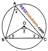 RBSE Solutions for Class 10 Maths Chapter 12 Circle Ex 12.3 8