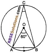 RBSE Solutions for Class 10 Maths Chapter 12 Circle Ex 12.3 9