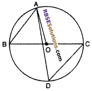 RBSE Solutions for Class 10 Maths Chapter 12 Circle Miscellaneous Exercise 11