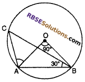 RBSE Solutions for Class 10 Maths Chapter 12 Circle Miscellaneous Exercise 12