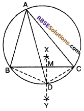 RBSE Solutions for Class 10 Maths Chapter 12 Circle Miscellaneous Exercise 16