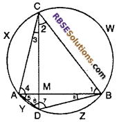 RBSE Solutions for Class 10 Maths Chapter 12 Circle Miscellaneous Exercise 18