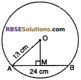 RBSE Solutions for Class 10 Maths Chapter 12 Circle Miscellaneous Exercise 2