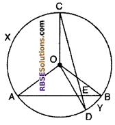 RBSE Solutions for Class 10 Maths Chapter 12 Circle Miscellaneous Exercise 20