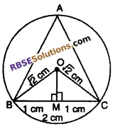 RBSE Solutions for Class 10 Maths Chapter 12 Circle Miscellaneous Exercise 23