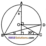 RBSE Solutions for Class 10 Maths Chapter 12 Circle Miscellaneous Exercise 28