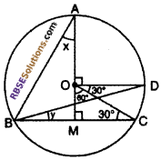 RBSE Solutions for Class 10 Maths Chapter 12 Circle Miscellaneous Exercise 29