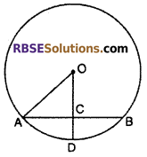 RBSE Solutions for Class 10 Maths Chapter 12 Circle Miscellaneous Exercise 4
