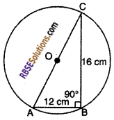 RBSE Solutions for Class 10 Maths Chapter 12 Circle Miscellaneous Exercise 5