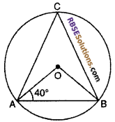 RBSE Solutions for Class 10 Maths Chapter 12 Circle Miscellaneous Exercise 8
