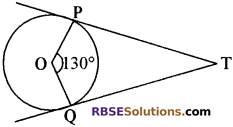 RBSE Solutions for Class 10 Maths Chapter 13 वृत्त एवं स्पर्श रेखा Additional Questions 14