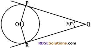 RBSE Solutions for Class 10 Maths Chapter 13 वृत्त एवं स्पर्श रेखा Additional Questions 20