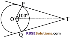 RBSE Solutions for Class 10 Maths Chapter 13 वृत्त एवं स्पर्श रेखा Additional Questions 21