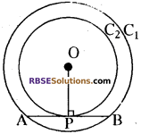RBSE Solutions for Class 10 Maths Chapter 13 वृत्त एवं स्पर्श रेखा Additional Questions 24