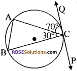 RBSE Solutions for Class 10 Maths Chapter 13 वृत्त एवं स्पर्श रेखा Additional Questions 25