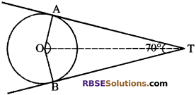 RBSE Solutions for Class 10 Maths Chapter 13 वृत्त एवं स्पर्श रेखा Additional Questions 30 m