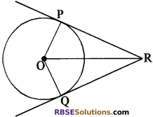 RBSE Solutions for Class 10 Maths Chapter 13 वृत्त एवं स्पर्श रेखा Additional Questions 31