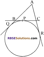 RBSE Solutions for Class 10 Maths Chapter 13 वृत्त एवं स्पर्श रेखा Additional Questions 37