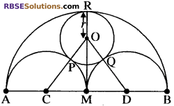 RBSE Solutions for Class 10 Maths Chapter 13 वृत्त एवं स्पर्श रेखा Additional Questions 42