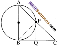 RBSE Solutions for Class 10 Maths Chapter 13 वृत्त एवं स्पर्श रेखा Additional Questions 49