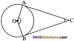 RBSE Solutions for Class 10 Maths Chapter 13 वृत्त एवं स्पर्श रेखा Additional Questions 54