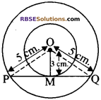 RBSE Solutions for Class 10 Maths Chapter 13 वृत्त एवं स्पर्श रेखा Ex 13.1 1