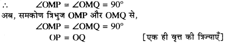 RBSE Solutions for Class 10 Maths Chapter 13 वृत्त एवं स्पर्श रेखा Ex 13.1 2