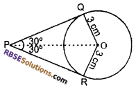 RBSE Solutions for Class 10 Maths Chapter 13 Circle and Tangent Additional Questions 21