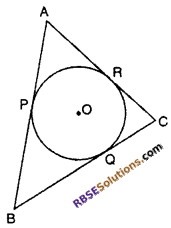 RBSE Solutions for Class 10 Maths Chapter 13 Circle and Tangent Additional Questions 23
