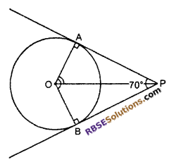 RBSE Solutions for Class 10 Maths Chapter 13 Circle and Tangent Additional Questions 3