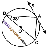 RBSE Solutions for Class 10 Maths Chapter 13 Circle and Tangent Additional Questions 5