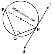 RBSE Solutions for Class 10 Maths Chapter 13 Circle and Tangent Additional Questions 7
