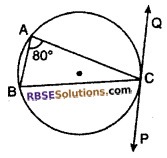 RBSE Solutions for Class 10 Maths Chapter 13 Circle and Tangent Ex 13.2 2