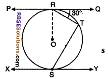 RBSE Solutions for Class 10 Maths Chapter 13 Circle and Tangent Ex 13.2 3