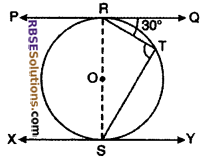 RBSE Solutions for Class 10 Maths Chapter 13 Circle and Tangent Ex 13.2 4