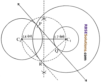 RBSE Solutions for Class 10 Maths Chapter 14 रचनाएँ Ex 14.1 13