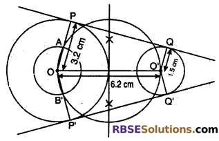 RBSE Solutions for Class 10 Maths Chapter 14 Constructions Additional Questions 14