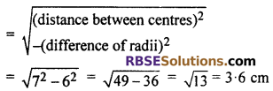 RBSE Solutions for Class 10 Maths Chapter 14 Constructions Additional Questions 17