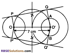 RBSE Solutions for Class 10 Maths Chapter 14 Constructions Additional Questions 18