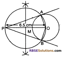 RBSE Solutions for Class 10 Maths Chapter 14 Constructions Additional Questions 6