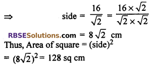 RBSE Solutions for Class 10 Maths Chapter 15 Circumference and Area of a Circle Ex 15.3 10