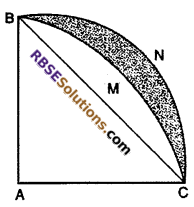 RBSE Solutions for Class 10 Maths Chapter 15 Circumference and Area of a Circle Ex 15.3 11