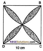 RBSE Solutions for Class 10 Maths Chapter 15 Circumference and Area of a Circle Ex 15.3 16