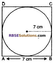 RBSE Solutions for Class 10 Maths Chapter 15 Circumference and Area of a Circle Ex 15.3 20