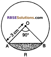 RBSE Solutions for Class 10 Maths Chapter 15 Circumference and Area of a Circle Ex 15.3 3