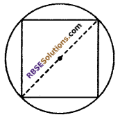 RBSE Solutions for Class 10 Maths Chapter 15 Circumference and Area of a Circle Ex 15.3 9