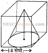 RBSE Solutions for Class 10 Maths Chapter 16 पृष्ठीय क्षेत्रफल एवं आयतन Ex 16.3 16