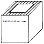 RBSE Solutions for Class 10 Maths Chapter 16 Surface Area and Volume Ex 16.1 1