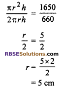 RBSE Solutions for Class 10 Maths Chapter 16 Surface Area and Volume Ex 16.2 4