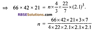 RBSE Solutions for Class 10 Maths Chapter 16 Surface Area and Volume Ex 16.4 11